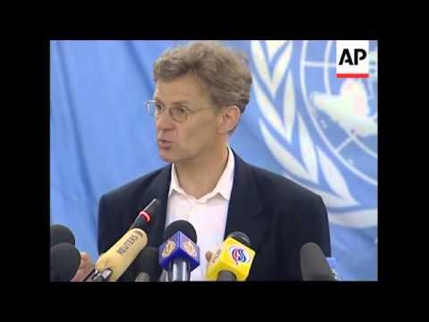 UN envoy on financial aid and reconciliation in Darfur
