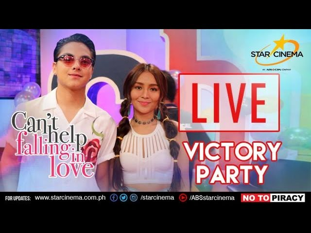 [LIVE] 'Can't Help Falling In Love' Thank You Party