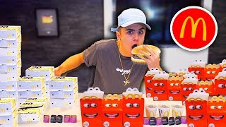MCDONALDS EATING CHALLENGE!! {Breaking World Records}