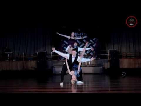 "Latin Motion Show Cup 2014 - ""Pleasure Town"" (Salsa Alegria)"