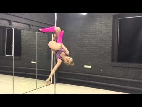 Юлия Гераскина Танец на шесте