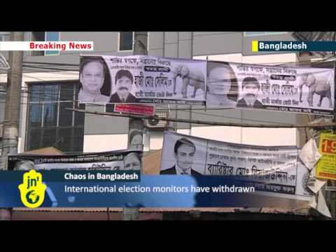 Violence grips Bangladesh amid boycotted election: over 100 polling stations torched
