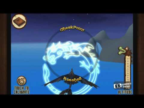 How to Train Your Dragon Flight of the Night Fury - iPhone Game Preview