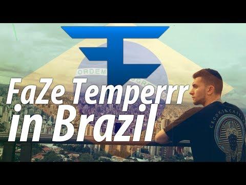FaZe Temperrr in Brazil