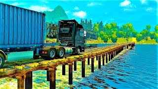 Euro Truck Simulator 2 (Eldorado Map - Dangerous Roads) (+Download) 1.30x