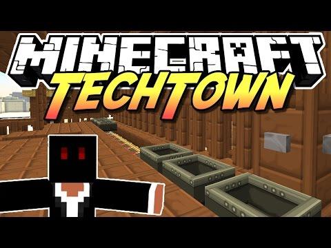Minecraft TechTown - 2 WAGEN AUF DER BAHN #108 - auf gamiano.de