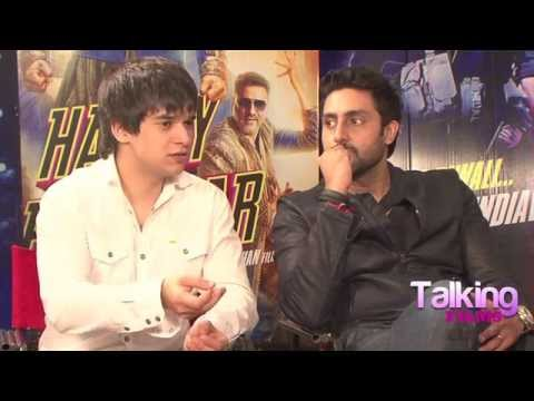 Abhishek Bachchan Farah Khan Vivaan Shah Exclusive on Happy New Year Part 3