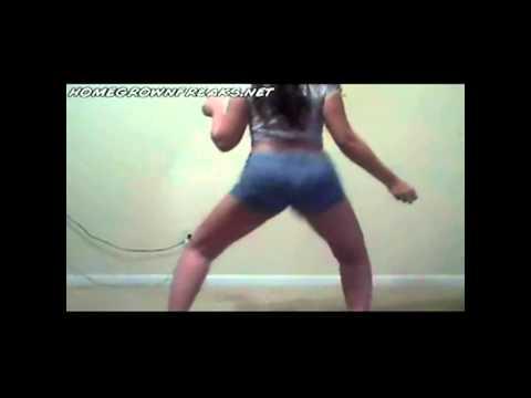 pretty girl shaking booty 2 young nye new single (w.o.u.m.h)2011