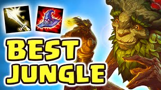 THE BEST JUNGLER EVER CREATED | NEW IVERN JUNGLE SPOTLIGHT (FULL AP IVERN JUNGLE) - Nightblue3