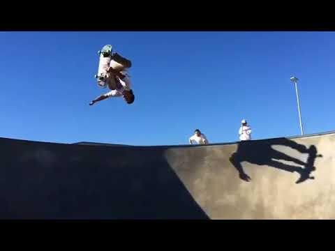 WOW @justinkalaniburbage via @skatecrunchmag   Shralpin Skateboarding