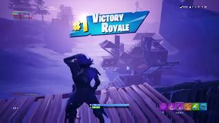 Playing Fortnite with friends. (Wins and Funny moments)