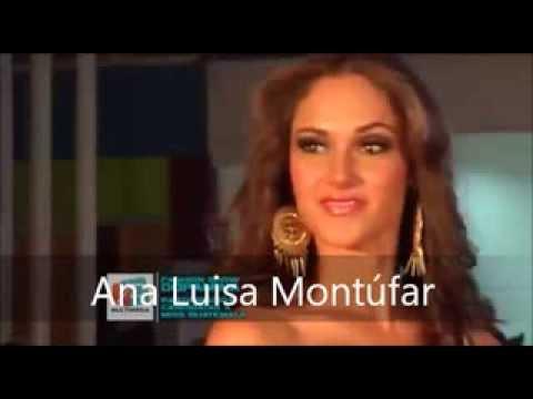 Miss Universe Guatemala 2014 is Ana Luisa Montúfar Urrutia