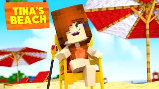 Minecraft Daycare - TINA'S BEACH (Minecraft Roleplay)