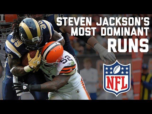Steven Jacksons Most Dominant Runs  NFL Highlights