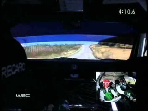 WRC Rally 2005 Great Britain Colin McRae Onboard pure sound