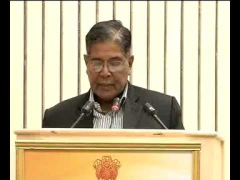 Mr. K Rahman Khan, Minority Affairs Minister, addresses National Editors' Conference-part2