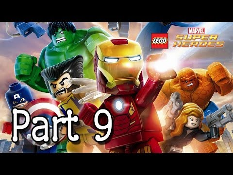 LEGO: Marvel Super Heroes - Hawkeye & Black Widow (Empire State Building) - Part 9