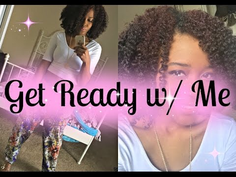 Spring Fling GRWM + My Moisture Re-Boost Routine | Natural Hair