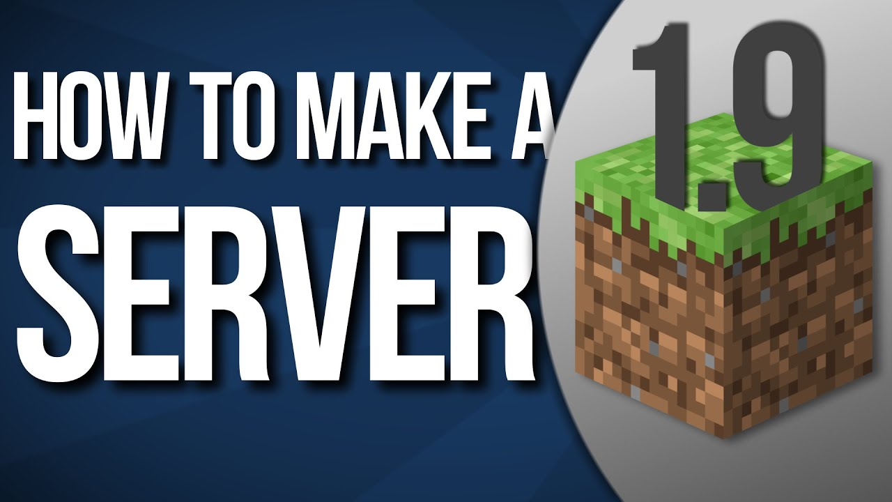 How to Make a Minecraft Server 1 8 6 Animated Tutorial YouTube