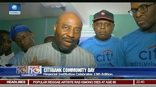 CitiBank Celebrates 13th Edition Of Community Day Pt 3 | News@10 |