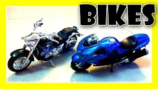 TOY BIKES COLLECTION - Harley Davidson Motorbikes, Diecast Motorbikes, Motorcycles by JeannetChannel