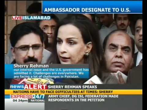 Pakistan is facing a number of challenges today: Sherry Rehman