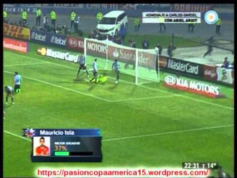 Chile 1 Uruguay 0 (Relato Tatan Luchsinger) Copa America 2015
