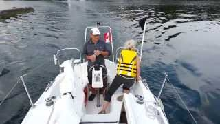 Sailing on the Lake Ontario, Toronto - MacGregor-26M (August 8, 2013)