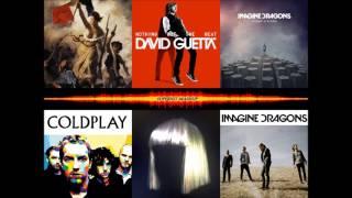 Coldplay vs Imagine Dragons vs Sia - Viva La Vida Titanium Radioactive Mashup Mix