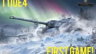 T110E4 First Game! | WoT - XBox One