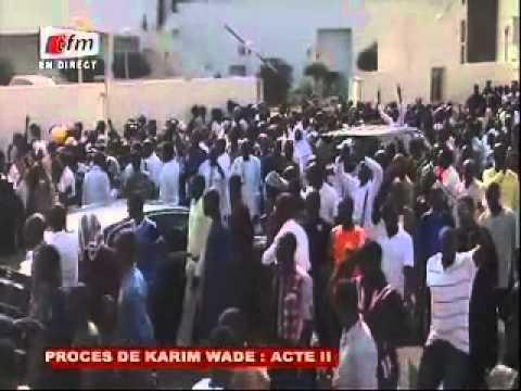 Procès Karim Wade: Acte II - Un dispositif sécuritaire impressionnant mis en place