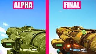 DOOM Gun Sounds ALPHA vs FINAL