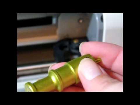 changing cricut blade