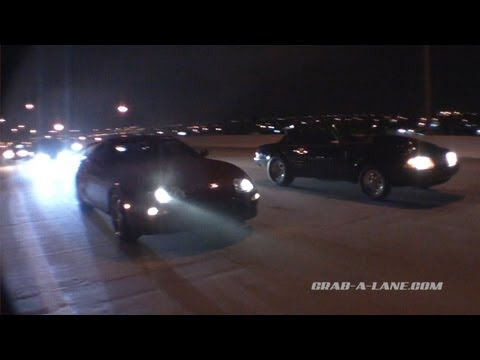 Supra vs Turbo LSX Mustang DIG RACE!