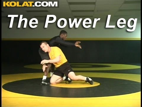 Penetration Step Power Leg KOLAT.COM Wrestling Techniques Moves Instruction Image 1