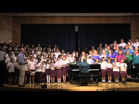 "Qatar Academy Choir Sings ""What a Wonderful World"""