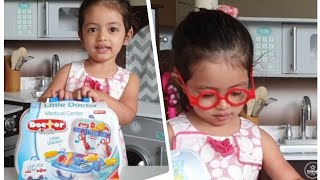 2 year old Toddler Doctor Set Unboxing | Toy Review | Pretend Play