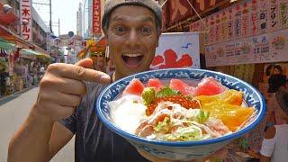 Tokyo Street Food Market Experience | Ameyoko ? ONLY in JAPAN