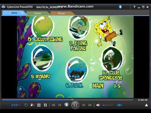 Sponge Buddies Vhs Sponge Buddies Dvd Menu