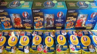 UEFA Euro 2016 Panini 3 x Gift Box: 30 Boosters 6 Limited Edition + Legend Signatur Expert Cards
