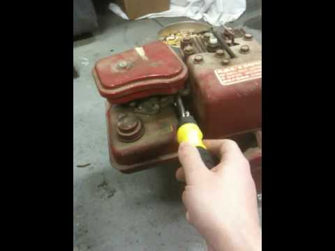 30 Year Old 3hp Briggs And Stratton 10 Year Cold Start