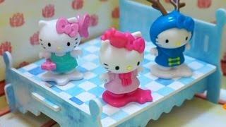 Hello Kitty Jumping on the Bed | Nursery Rhyme Song | music video children