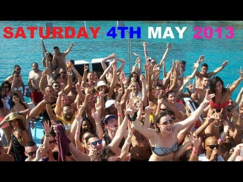 FANTASY BOAT PARTY AYIA NAPA CYPRUS SATURDAY 4TH MAY 2013