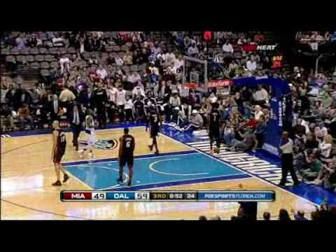 ★HEATING UP★ Lebron James BUMPS Coach Eric Spoelstra During Heat vs Mavericks