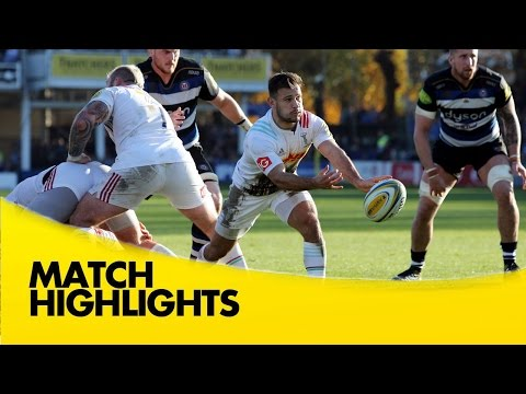 Bath Vs Harlequins - Aviva Premiership 2015/16