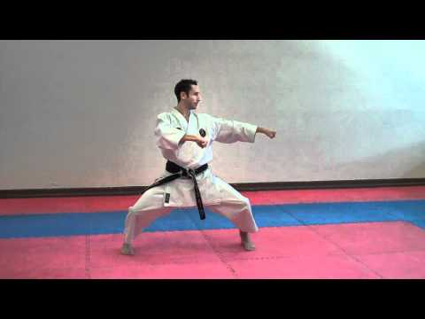 Tekki Shodan (slow) - Warren Levi Karate video