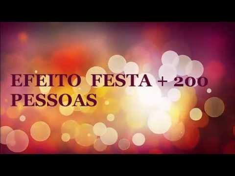 EFEITO SONORO  FESTA + 200 PESSOAS  - PARTY 200 PEOPLE EFFECT VOICED - QUALIDADE VINHETA