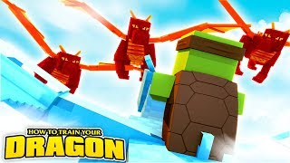 HOW TO TRAIN YOUR DRAGON - DRAGON WARS!