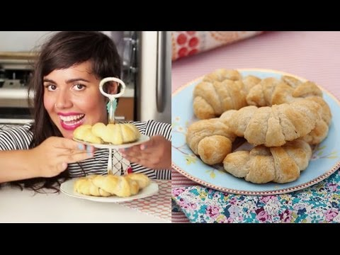 Croissant- Como fazer o clássico Croissant Francês crocante