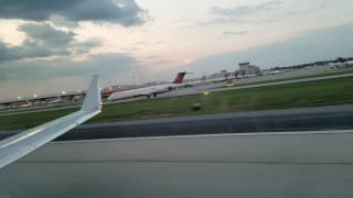 Republic Airways e170 takeoff Atl